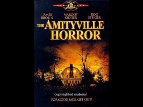 theme songs horror the amityville horror theme song youtube