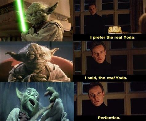 Star Wars Day Meme - i can t stand the animated yoda my favorite is the