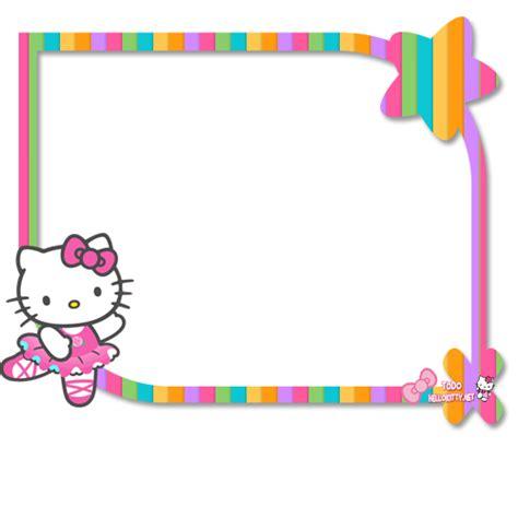 tarjetas infantiles para imprimir con marcos marcos para fotos de hello kitty todo hello kitty