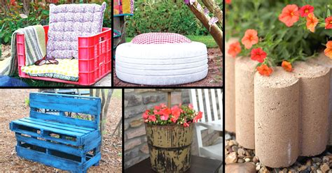 Diy Ideas For Garden 10 Truly Easy Yet Innovative Diy Garden Furniture Ideas Diy Projects