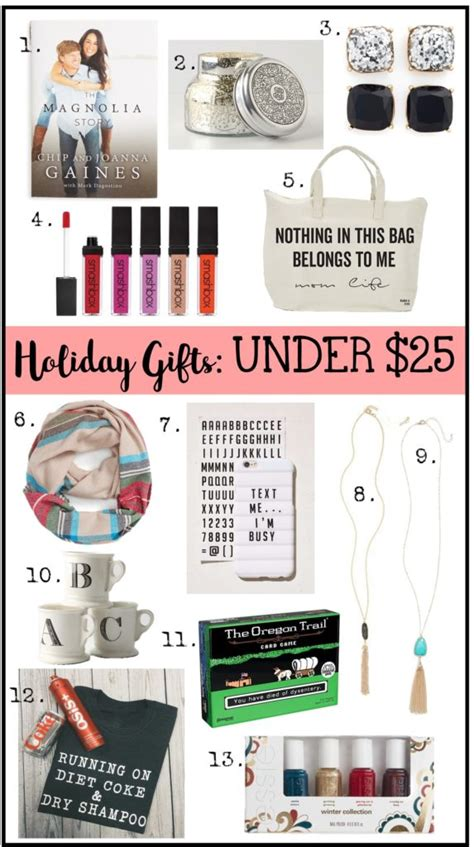 gifts under 25 christmas gifts under 25 under 50 house of hargrove