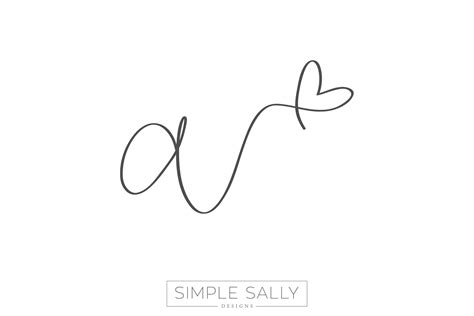 initials tattoo designs handwritten design by simple sally