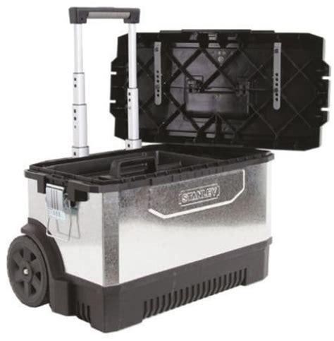plastic rolling tool box 1 95 828 stanley tools plastic rolling tool box