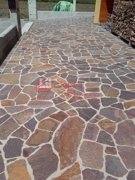 piastrelle di porfido prezzi lastrame pietra per pavimentazione palladiana opera