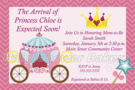 Printable Disney Baby Shower Invitations by Disney Princess Baby Shower Invitations Xyz
