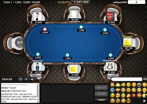 panduan  bermain bandar sakong  poker poker table games