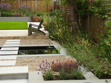 Contemporary Garden Design Contemporary Garden With Formal Pool Tim Mackley Garden