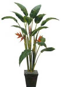 Decorative Plants For Home 7 Tall Giant Heliconia Tree Asian Artificial Flowers