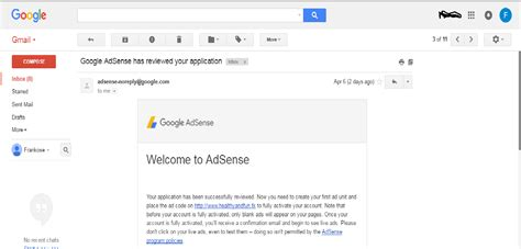 adsense us cara mendaftar google adsense us non hosted 3 hari approve