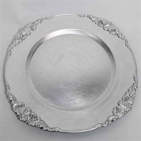 what are charger plates for vintage silver charger plates 12 pack emporium