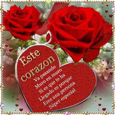 imagenes rosas brillantes hermosas imagenes de rosas rojas con corazones y frases para