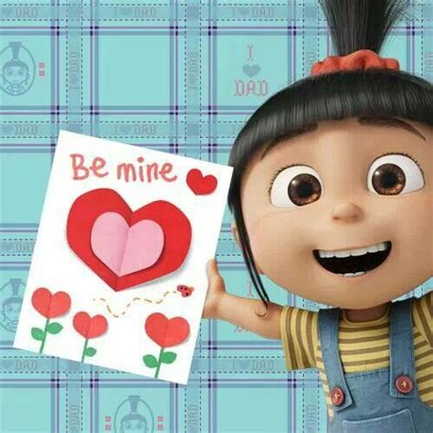 despicable me valentines happy s day from agnes minions