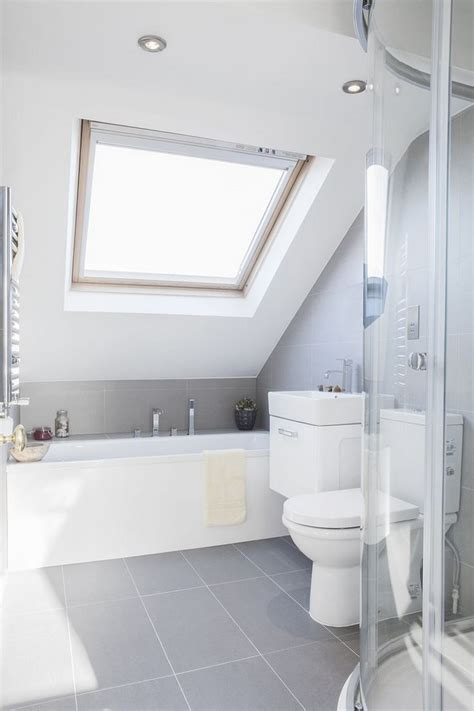 Great Small Bathroom Ideas Slanted Ceilings For A Unique Touch In Your Home S