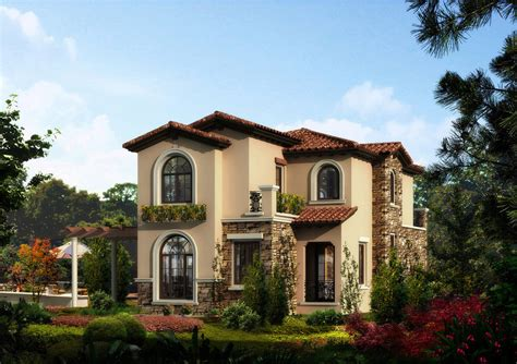 small villa design small rural villa design