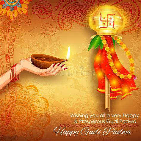 gudi padwa stock vector illustration of cloth goddess
