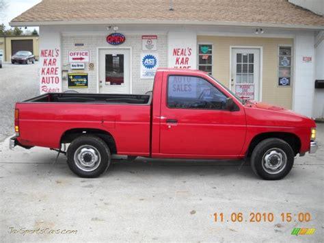 gray nissan truck 1991 nissan hardbody truck regular cab in aztec red