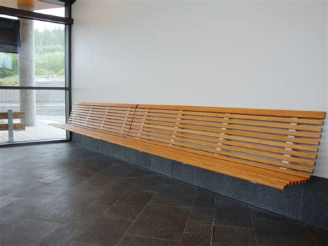 wall bench no2 wall mounted bench by nola industrier design olle anderson