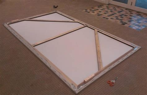 diy projection screen frame save money on your home theater with this pro looking diy