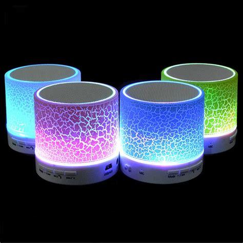 Speaker Bluetooth A9 portable led mini wireless bluetooth speaker a9 led
