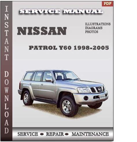 1998 2005 Nissan Patrol Y61 Series Service Repair Manual