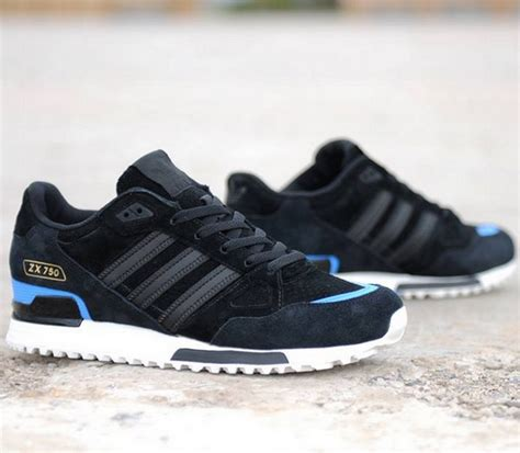 Adidas Zx 750 Blue White adidas originals zx 750 black blue white