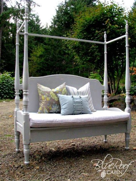 make your own canopy 25 headboard benches how to make your own canopy beds