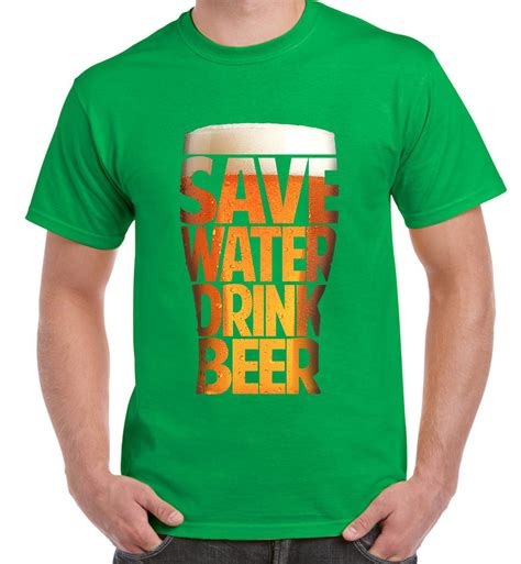 Tshirt Drink Water Item Limited save water drink s t shirt real ale drinker ebay