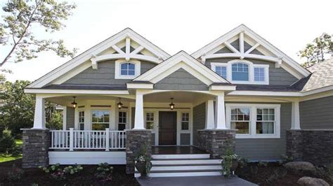 one story craftsman bungalow house plans craftsman style house plans one story one story