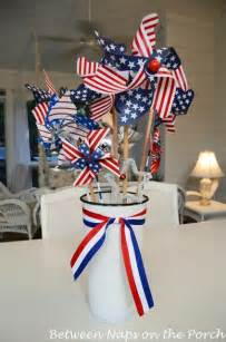 July 4th Table Decorations by Make An Easy Centerpiece Or Table Decoration The 4th Of July