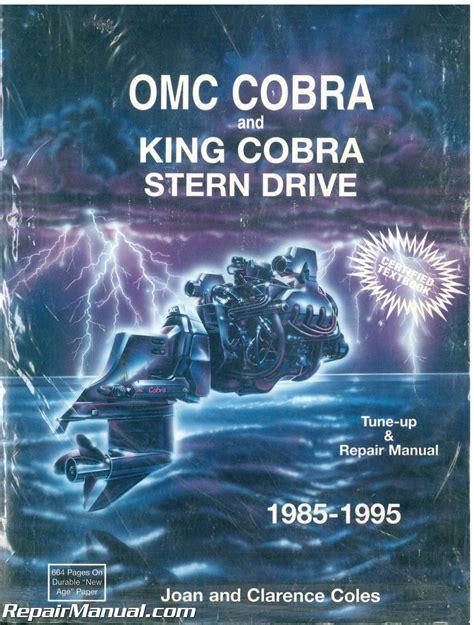 cobra boat engines used omc cobra stern drive boat engine repair manual 1985
