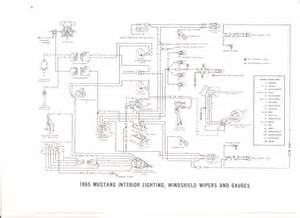 free auto wiring diagram 1965 ford mustang interior light wiper gauges wiring diagram