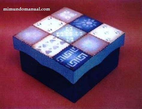 como decorar ina caja como decorar paso a paso caja de madera mimundomanual