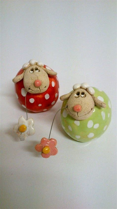 Paper Clay Crafts - 122 best images about sheep on