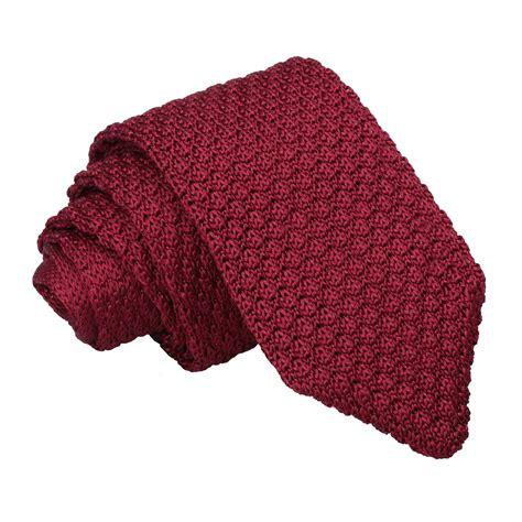 knitted silk ties uk ja grenadine knitted silk burgundy slim tie