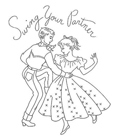 swing your partner do si do 18 best images about square dance embroidery on pinterest