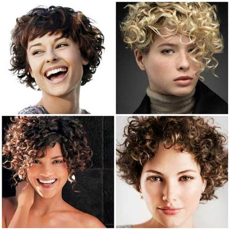 hair for slightly curly hair short hairstyles for curly hair the best short