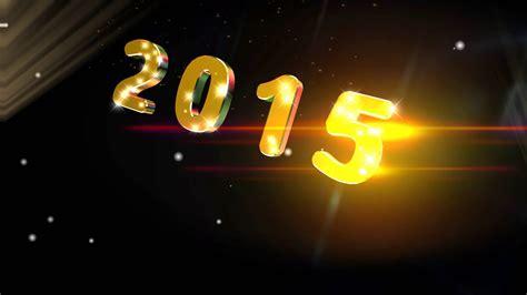 2015 year logo 4k show style uhd background animation