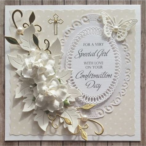 Handmade Confirmation Cards - handmade confirmation card