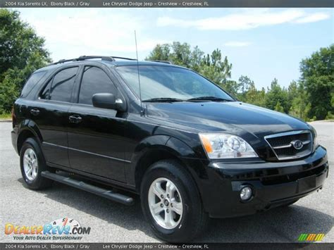 Kia 2004 Sorento 2004 Kia Sorento Lx Black Gray Photo 7