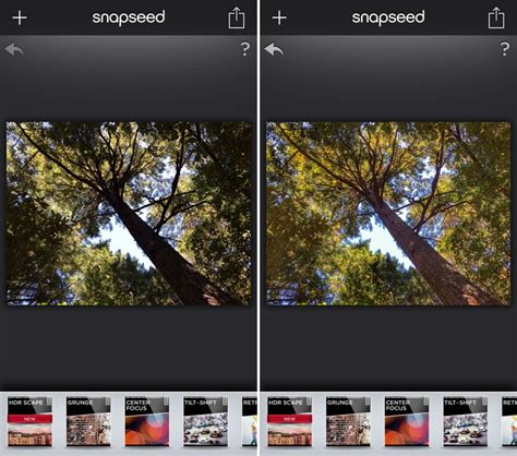 tutorial edit hdr snapseed snapseed for ios updated with new hdr scape filter