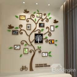 fantastic family tree pattern photo frame 3d wall sticker design make your own custom wall decals stickers zazzle