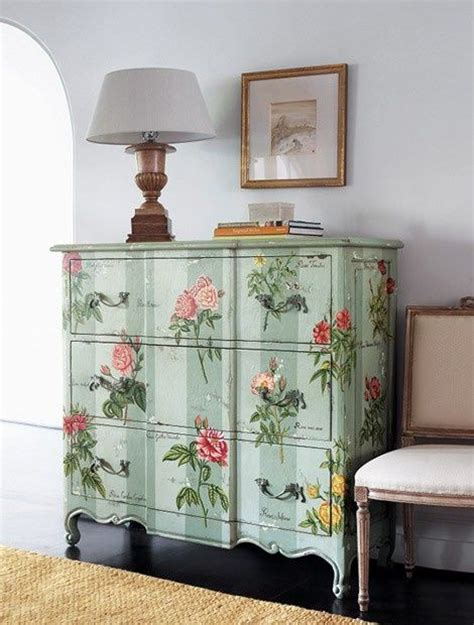 Vintage Decoupage Furniture - 17 best images about decoupage furniture on