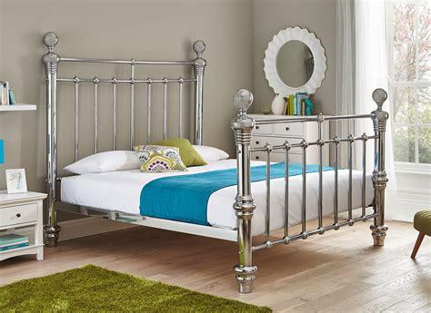 chrome bed frame quinn chrome plated metal bed frame super king metal beds dreamsuk furniture online
