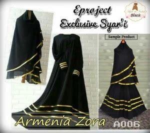 Baju Gamis Armenia Zora Syari baju gamis bergo armenia exclusive a006 busana muslim syari