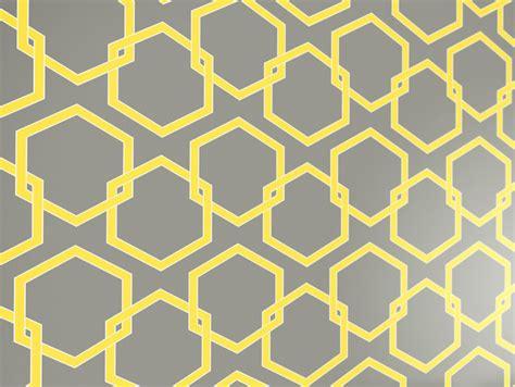 honeycomb gray designer removable wallpaper honeycomb self adhesive removable wallpaper citron