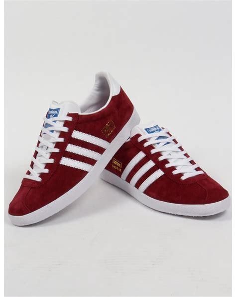 Adidas Gazelle White Bnwb adidas gazelle og burgundy white wroc awski informator
