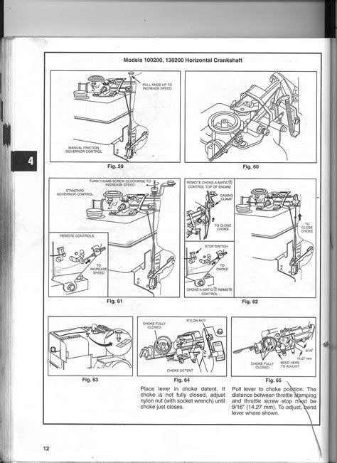 briggs and stratton governor linkage diagrams does anyone a diagram for the governor linkage on a
