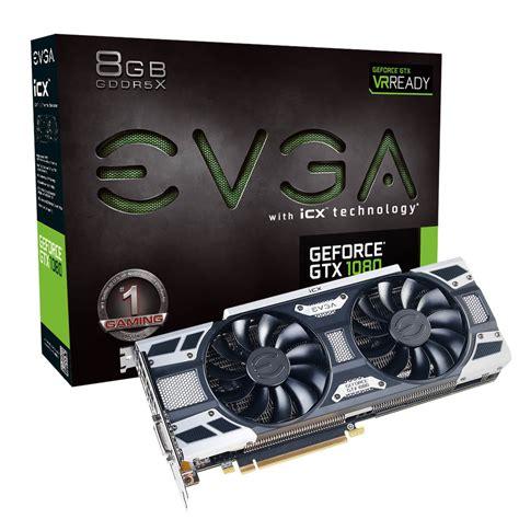 Evga Geforce Gtx 1080 Ftw2 Gaming evga products evga geforce gtx 1080 gaming 08g p4 6581 kr 8gb gddr5x icx 9 thermal