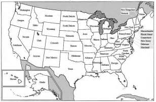 united states printable map with state names maps of united states of america with state names