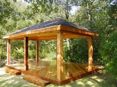 Backyard Pavilion Plans Ideas Backyard Gazebo Pictures And Ideas